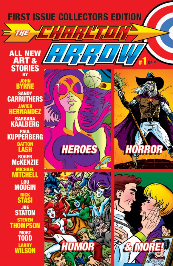Cover to Issue #1 of Charlton Arrow