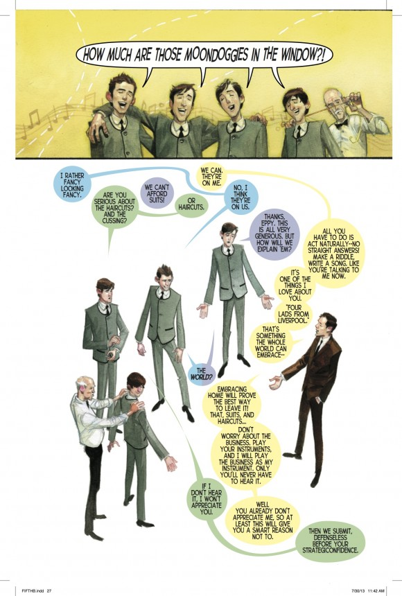 """""""I will play the business as my instrument."""" – Brian Epstein in """"The Fifth Beatle"""""""