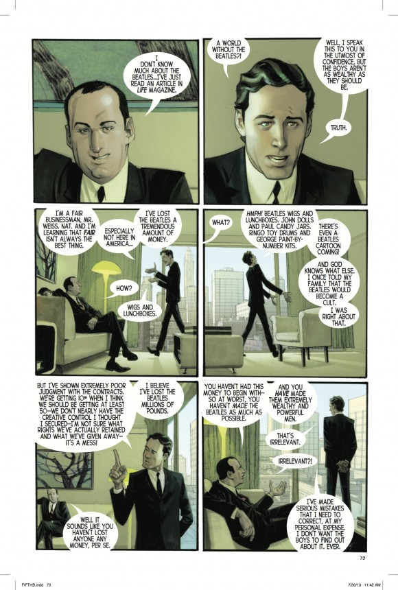 """""""There's even a Beatles cartoon coming!"""" – Brian Epstein in """"The Fifth Beatle"""""""