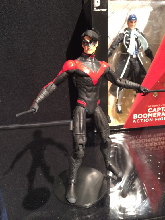 This is the regular New 52 Nightwing. I am surprised they're both coming out this year, even if the costumes are slightly different. I'll take it though.