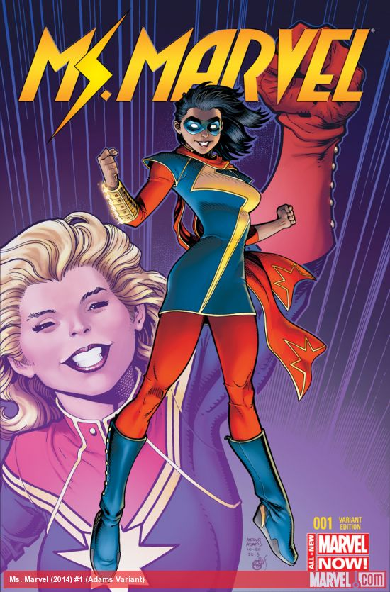 Art Adams with another Ms. Marvel!