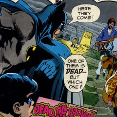 BATMAN MEETS THE BEATLES: He Came in Through the Bat-Room Window