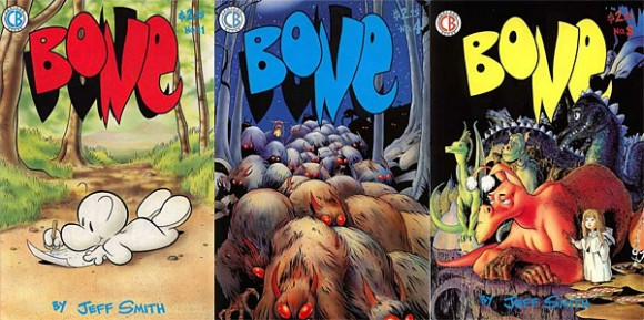 bone-comic-covers