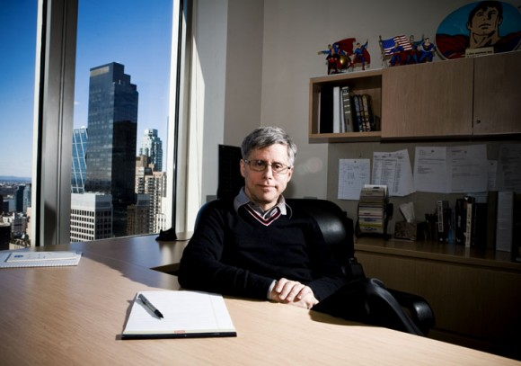 Paul Levitz photo by Seth Kushner