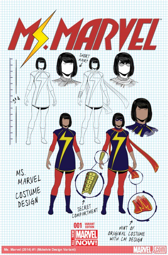 Jamie McKelvie design cover. I've said before: Every company should do this.