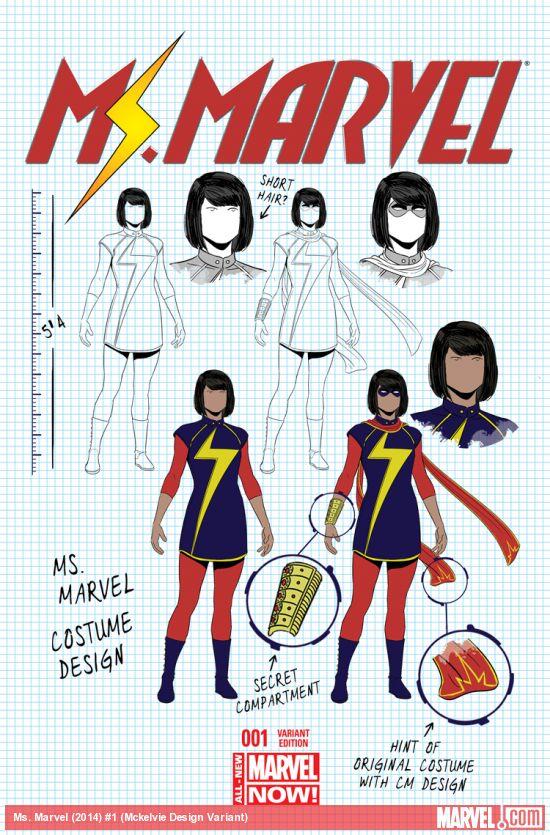 Jamie McKelvie design cover. I've said before: Every company should do this.