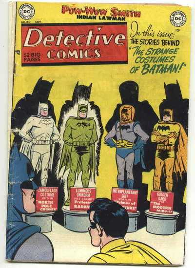 strange costumes batman
