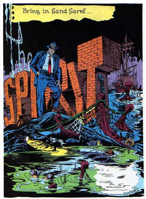 """Bring in San Saref"" (January 15, 1950), script and art by Will Eisner"
