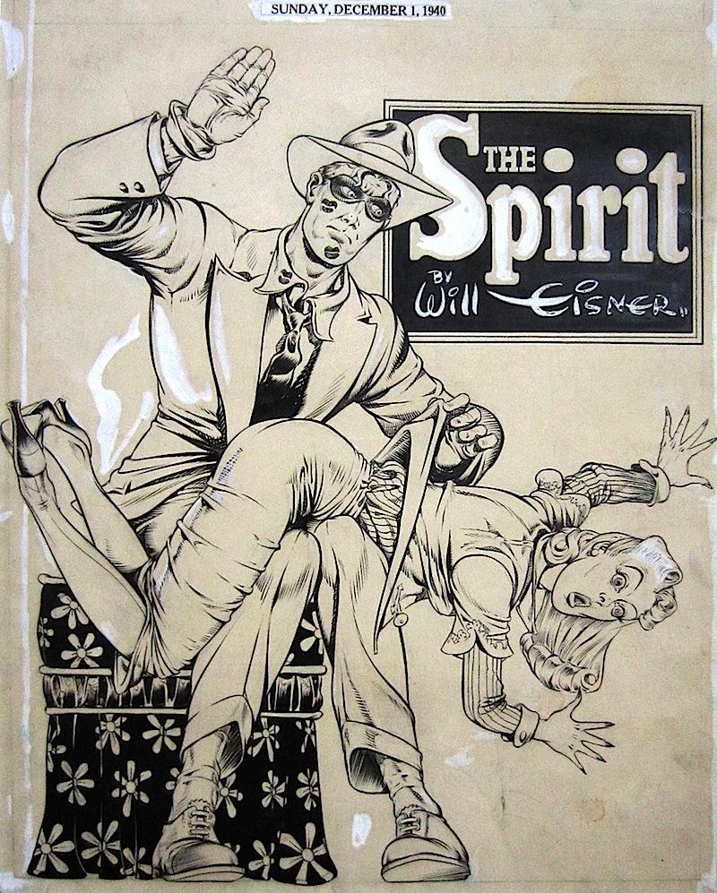 1940 Eisner Spirit splash 121 spanking