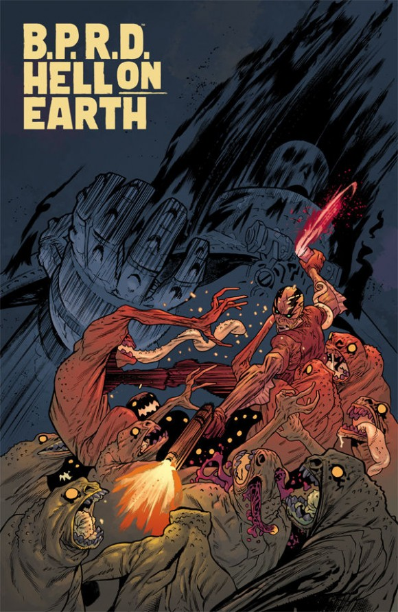 BPRD: Hell on Earth #117. Cover by Rafael Albuquerque.