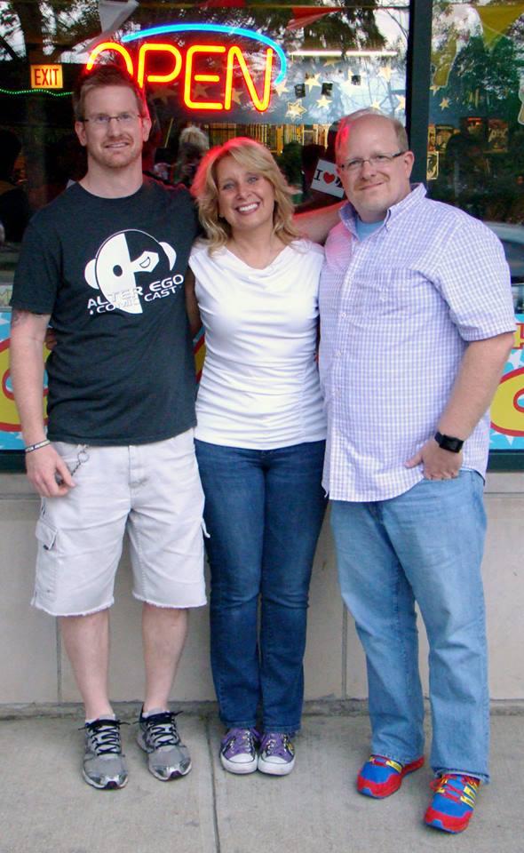 Jason, Christy and Mark