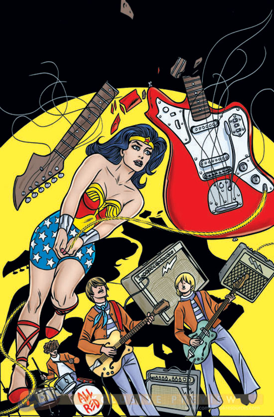 The Allred Wonder Woman variant cover and yes, I'm getting it.