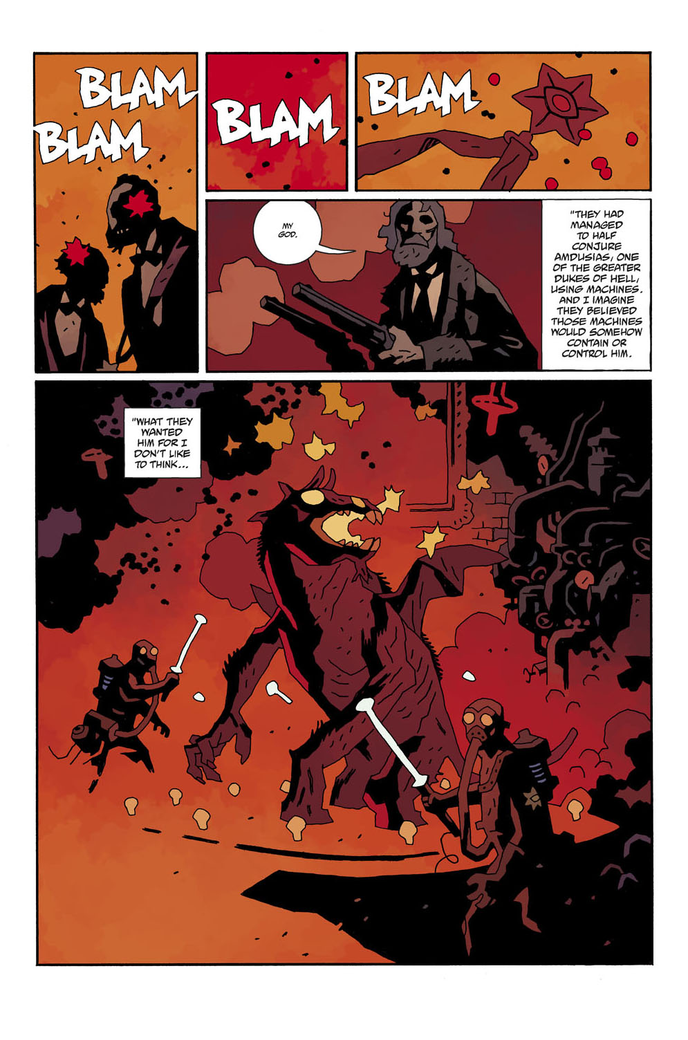 The Colorist Bar And Salon Specializing In: HELLBOY WEEK: The Color Of Hell, With DAVE STEWART