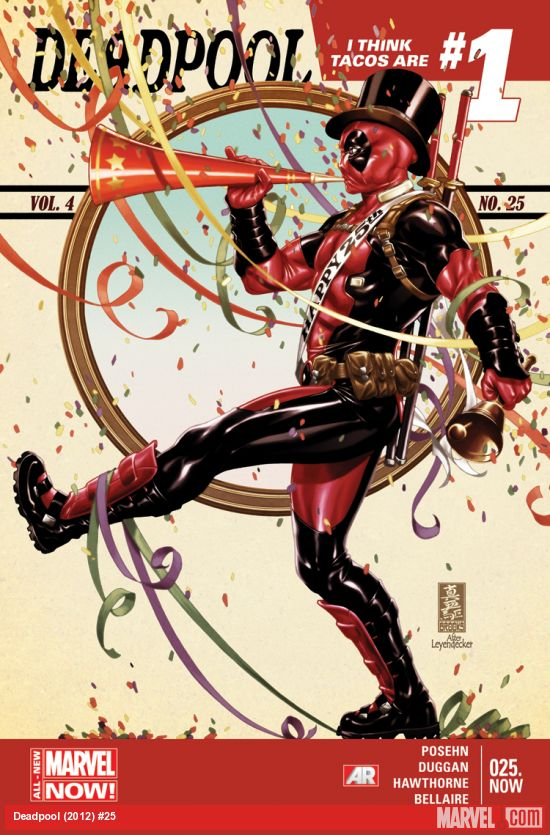 More Deadpool. This time by Mark Brooks.