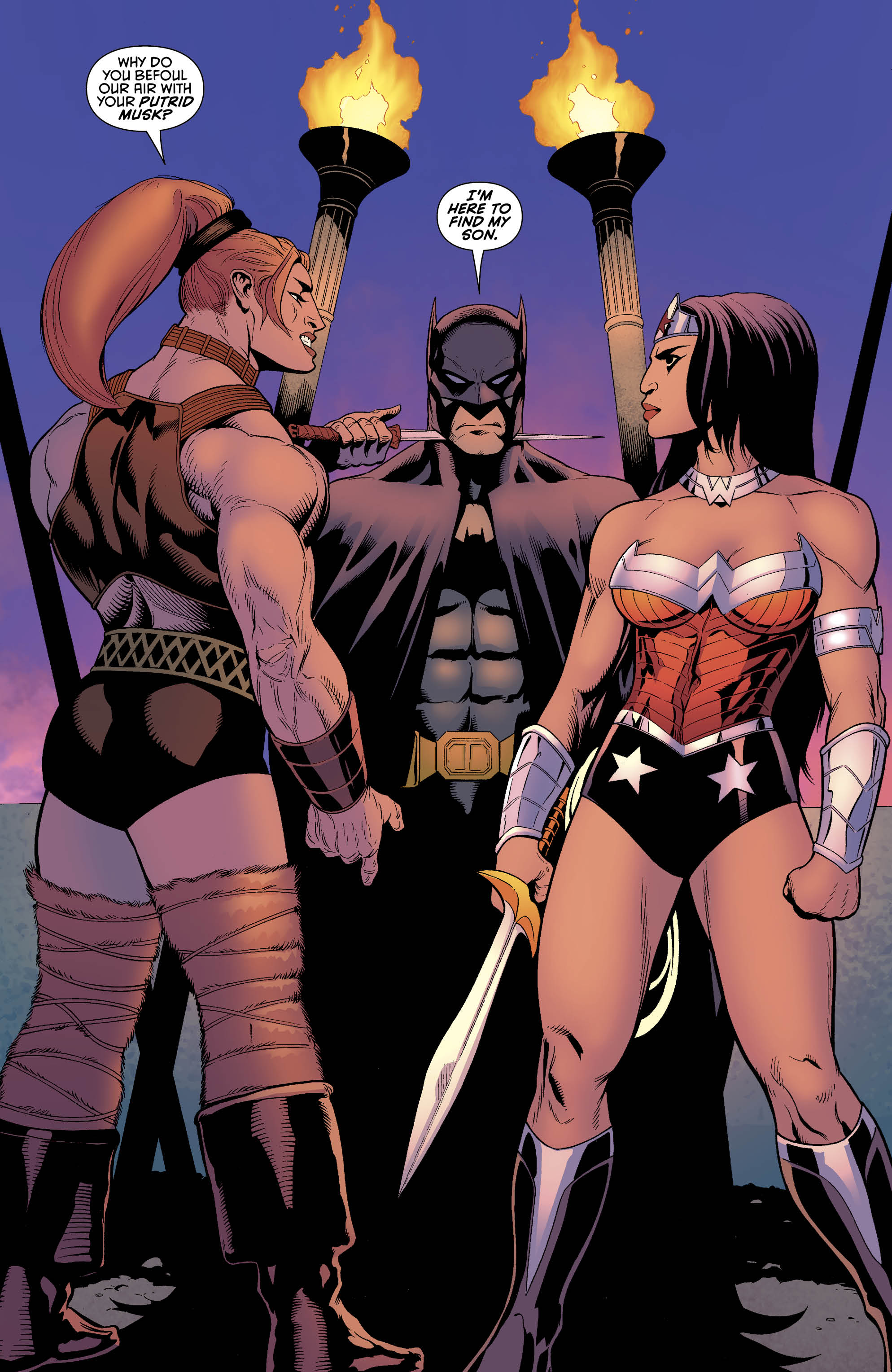 Wonder Woman Likes Batman