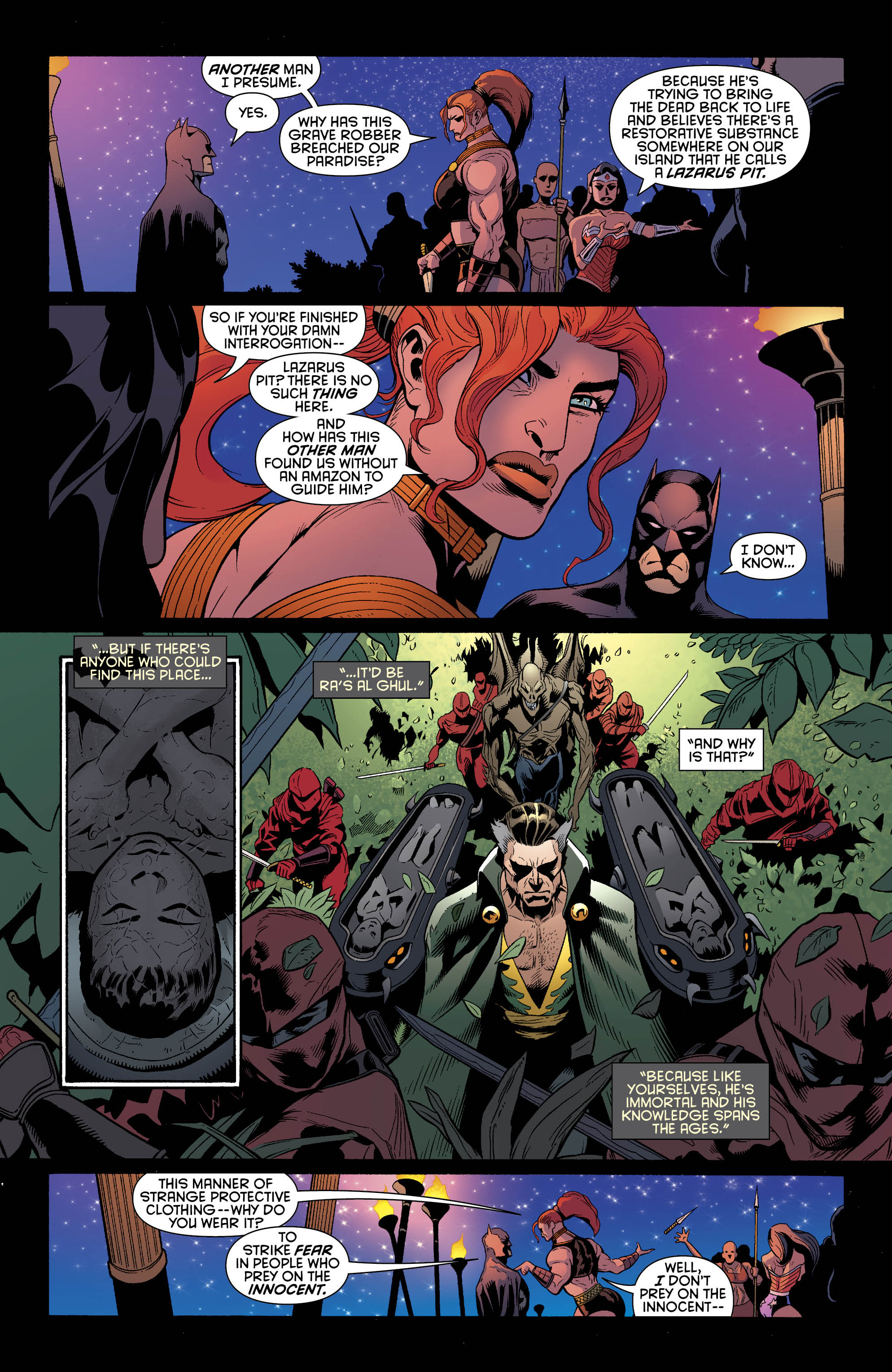 EXCLUSIVE PREVIEW: Batman and Wonder Woman #30 | 13th ...