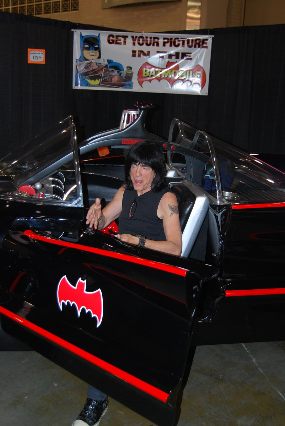 Hey! Ho! Let's go! To the Batmobile! With Marky Ramone!