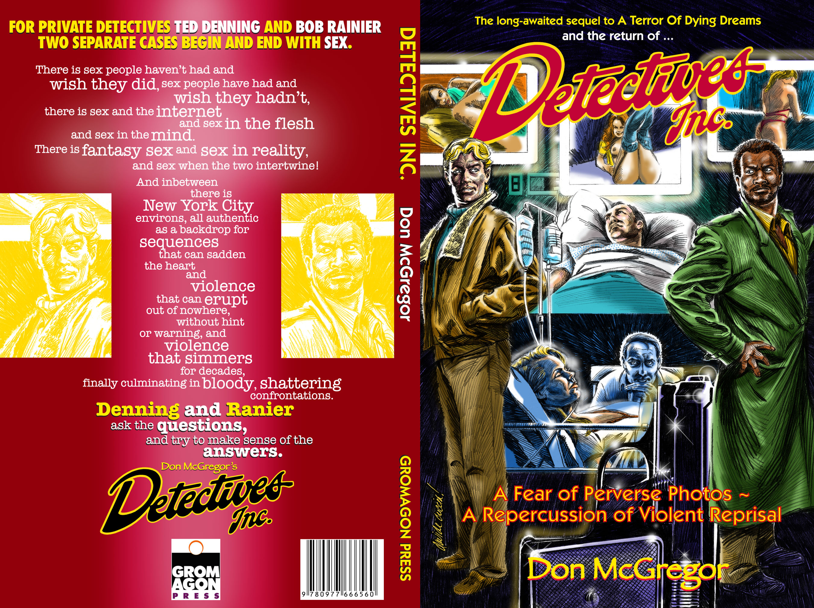 Detectives Inc Cover