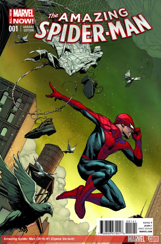 More Spidey! Jerome Opena