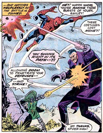 Marvel Team-Up #43 (1976), script by Bill Mantlo, art by Sal Buscema, Mike Esposito, and Dave Hunt