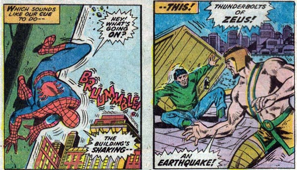 Marvel Team-Up #28 (1974), script by Gerry Conway, art by Jim Mooney and Vince Colletta