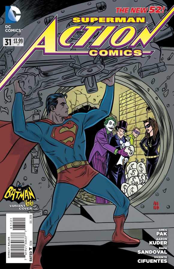 Allred again, mostly because it's fun to see Supes with the Big Four villains.