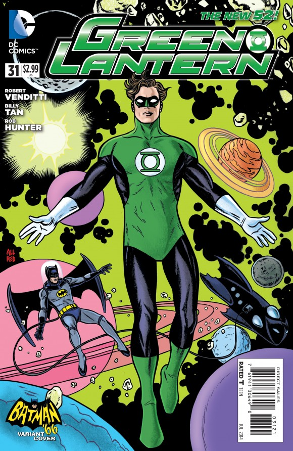Goreous. Allred. Man, I miss that version of Hal Jordan. I woulda gone with black shoulders though.