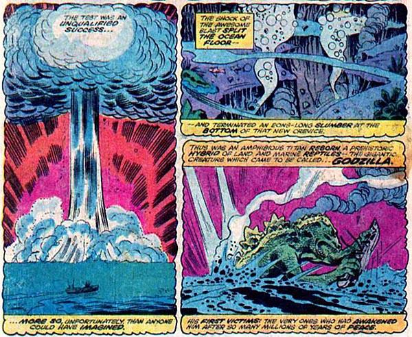 from Godzilla #1 (1977)