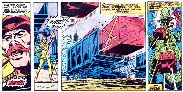 from Godzilla #2 (1977)