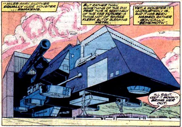 from Godzilla #6 (1978)