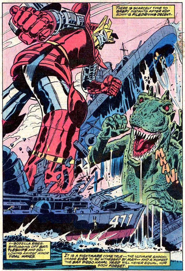 from Godzilla #8 (1978)