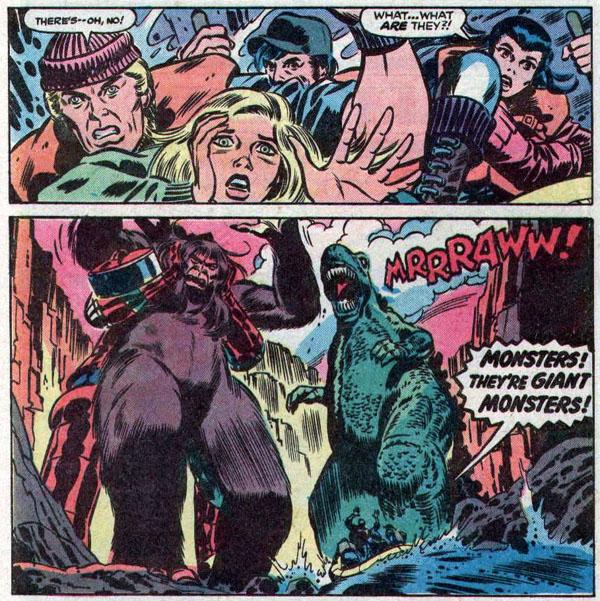from Godzilla #11 (1978)