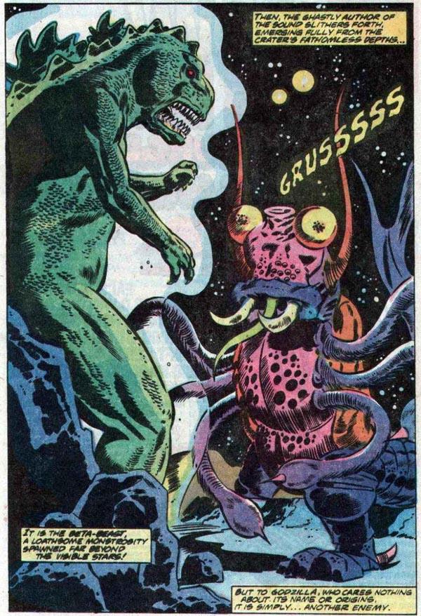 from Godzilla #12 (1978)