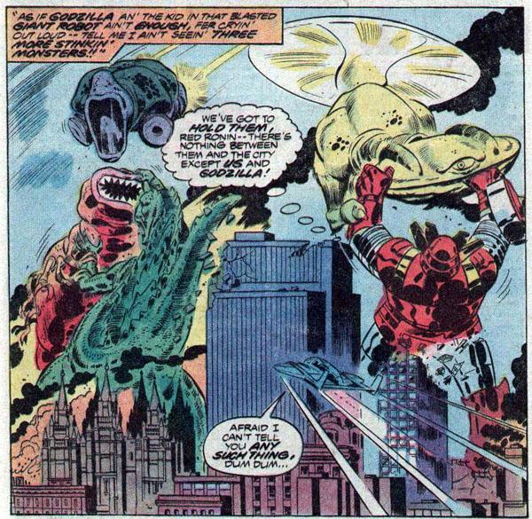 from Godzilla #13 (1978)