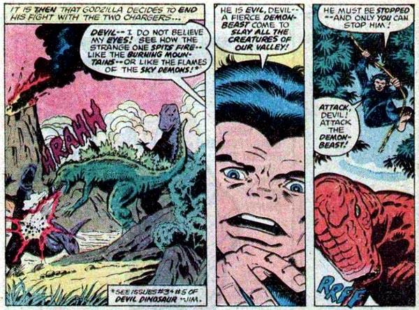from Godzilla #21 (1979)
