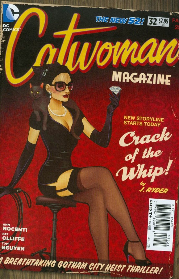 Ant Lucia. This is one of my fave Bombshells covers.