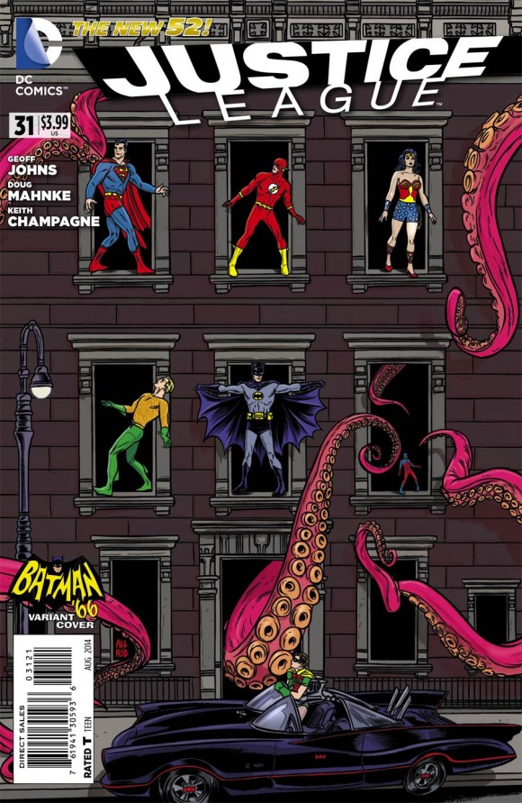 Mike Allred meets Batman '66 meets PHYSICAL GRAFFITI!