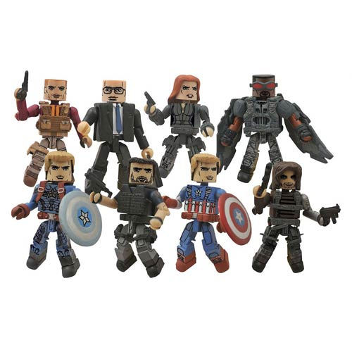 These are all the Minimates in the wave. Winners receive a random selection.