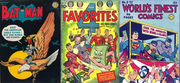 Batman #17, 4 Favorites #11, World's Finest Comics #8