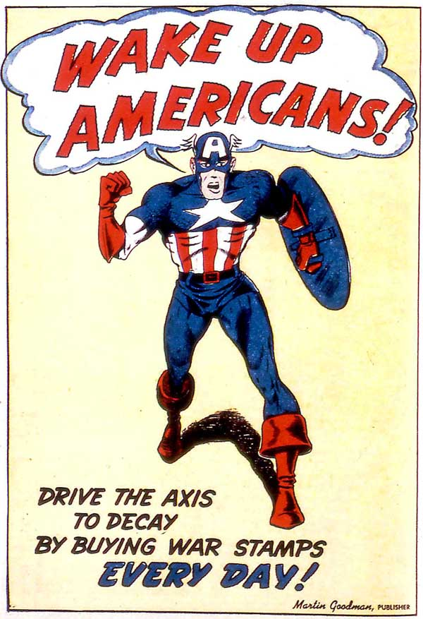 pin-up from Captain America Comics #21 (1942)