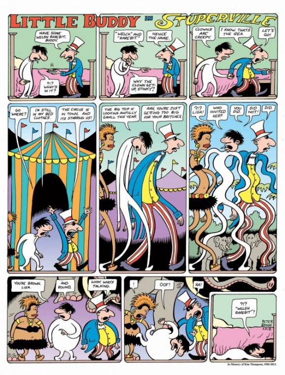 Peter Bagge's take on Little Nemo
