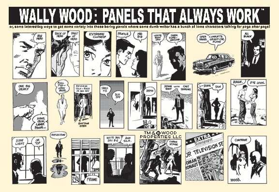 wally wood panels Poster PR
