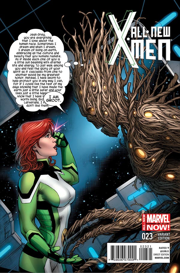 variant cover of All-New X-Men #23 (2014), art by Dale Keown