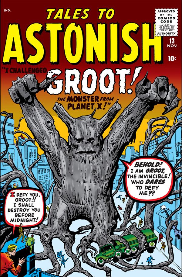 cover of Tales to Astonish #13 (1960), art by Jack Kirby and Steve Ditko