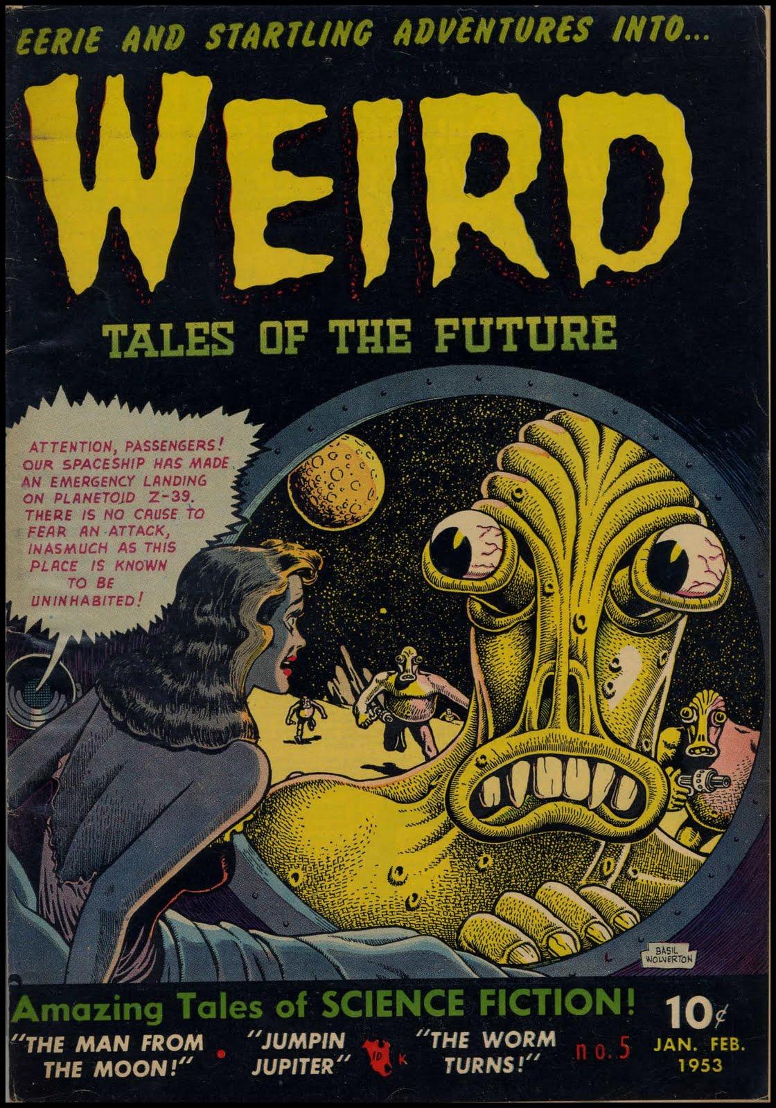 Happy Birthday Basil Wolverton 13th Dimension Comics