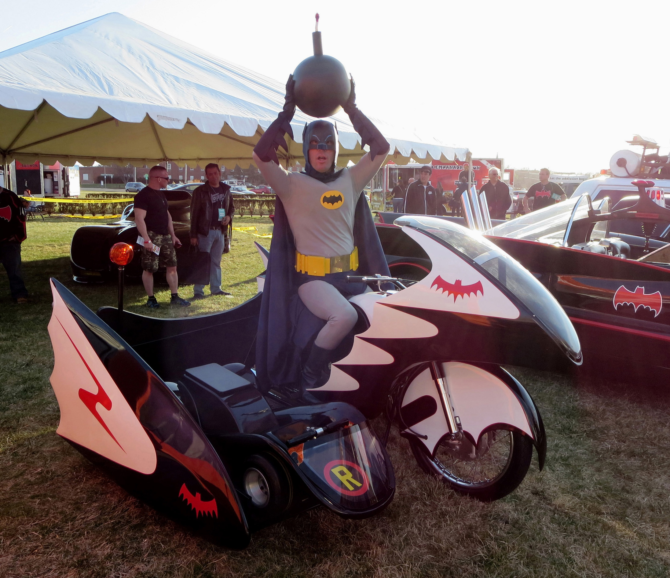 01-BatDave-as-Batman-Batcycle