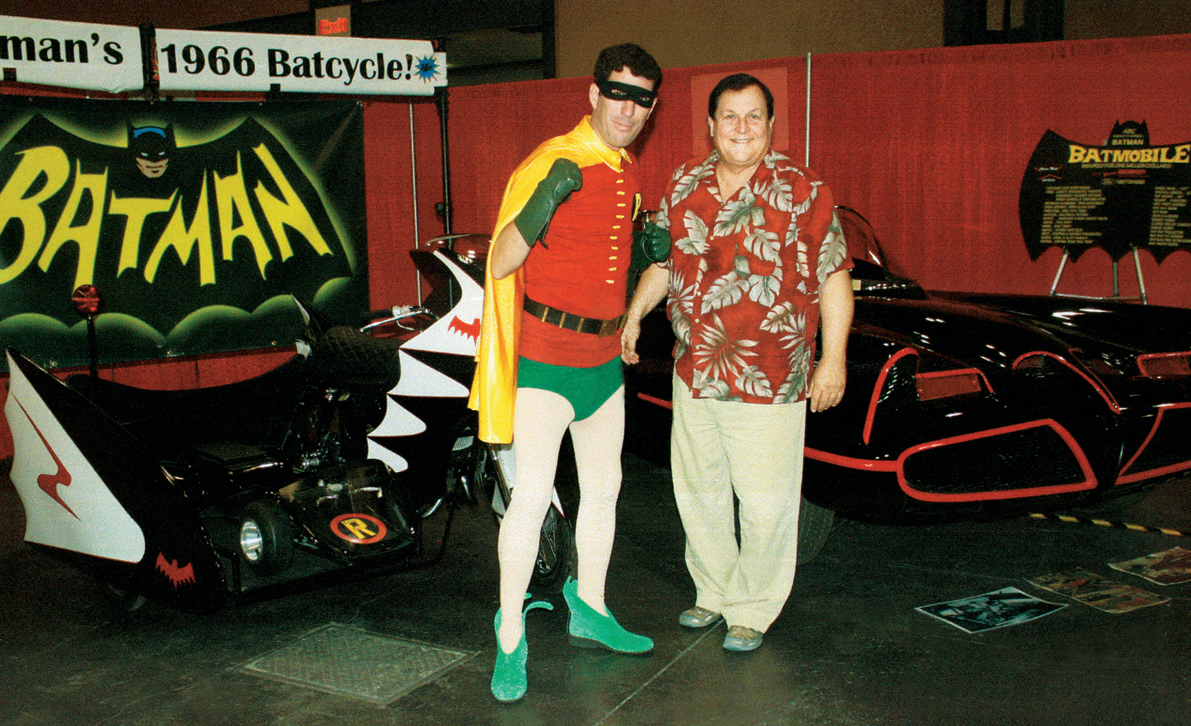 BatDave as Robin and Burt Ward as himself.