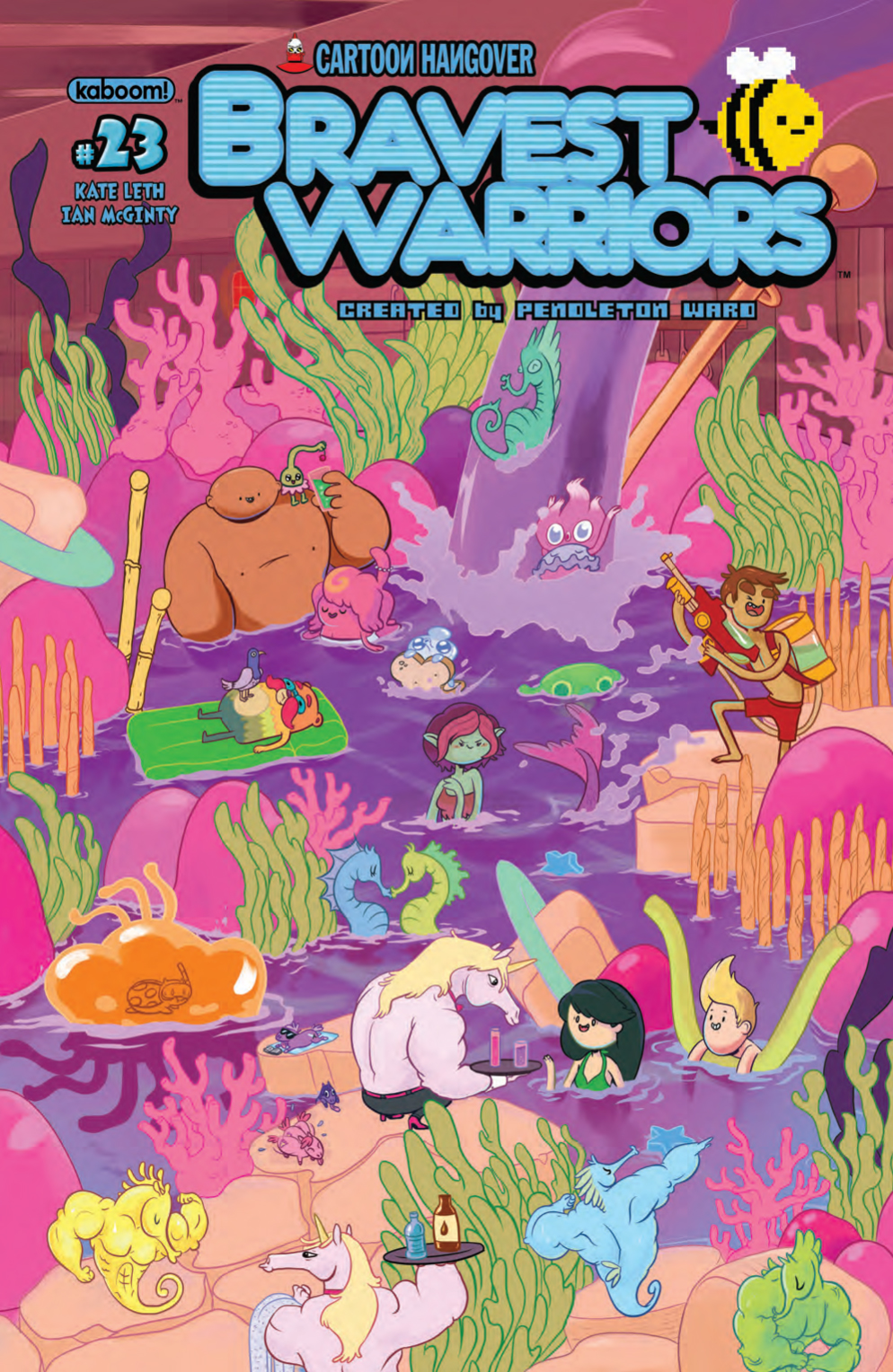 exclusive preview bravest warriors 23 13th dimension comics