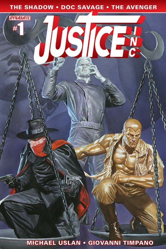 Cover by Alex Ross, as if you couldn't tell.