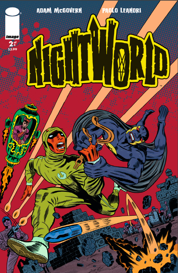 Nightworld Issue 2 front cover